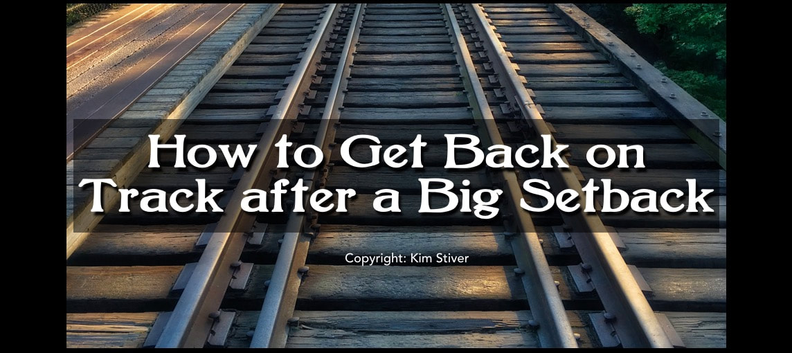 How to get back on track after a spiritual setback