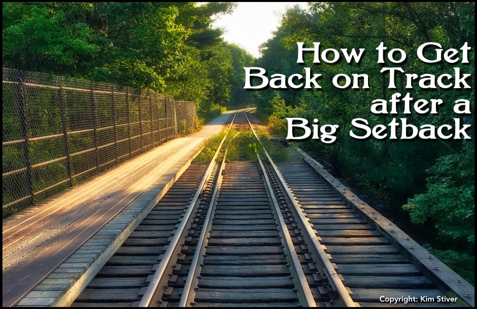 Get back on track after a spiritual setback