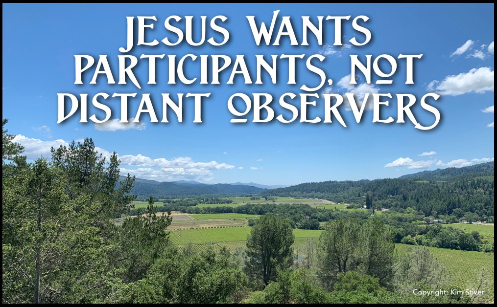 Jesus wants participants not distant observers. Supercharge your faith with this.
