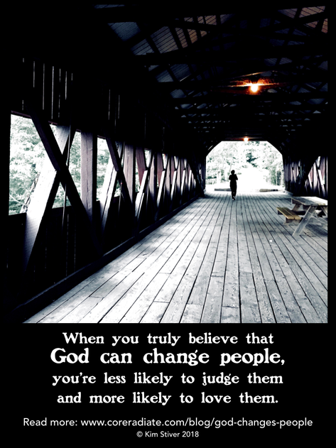 God Changes People