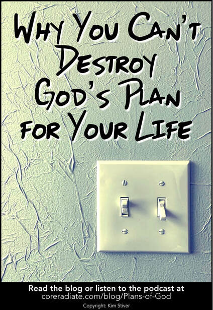 Why You Can't Destroy God's Plan for Your Life