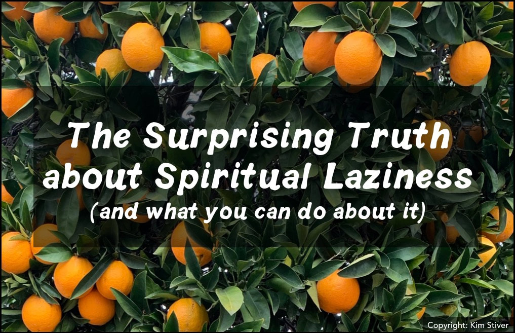The Surprising Truth About Spiritual Laziness and What You Can Do About It